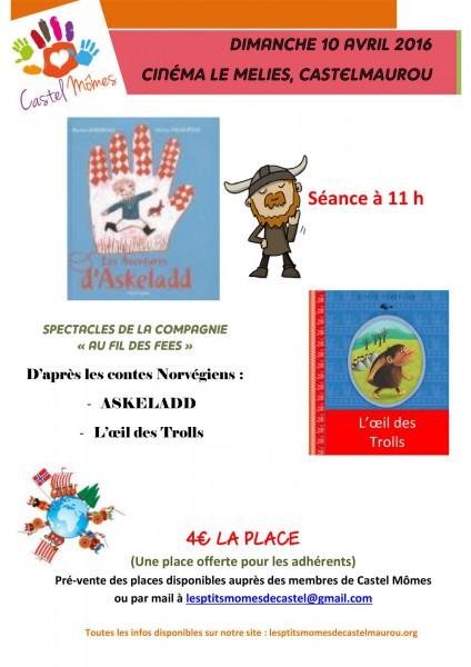 Spectacle de théâtre d'enfants à Castelmaurou (31)